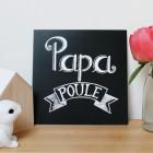 Affiche Papa poule