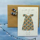 Carte double Ma petite robe préférée