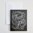 Carte double « Floral thank you »