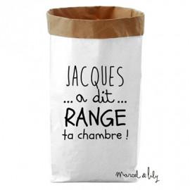 Paper bag Jacques a dit range ta chambre