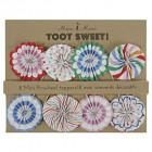 Petites rosaces décoratives pour gâteaux Toot sweet