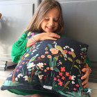 Grand coussin Collection Jardin des paons