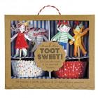 Kit de décorations pour cupcakes Enfants Toot sweet