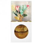 Kit de décorations pour cupcakes Fleurs