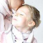 Chèche pompons mère et fille Églantine