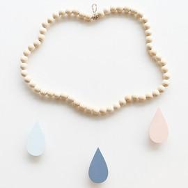 Mobile nuage en perles de bois Collection Rosalie