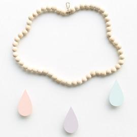 Mobile nuage en perles Ninon
