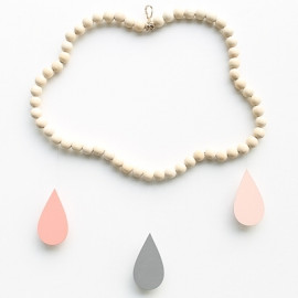 Mobile nuage en perles Charlotte