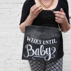 Ardoise « Weeks until baby »